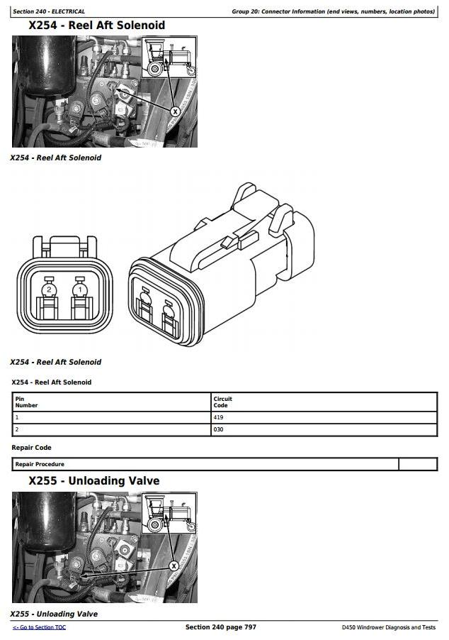 TM108919 - John Deere D450 Self-Propelled Hay and Forage Windrower Diagnostic & Tests Service Manual - 2