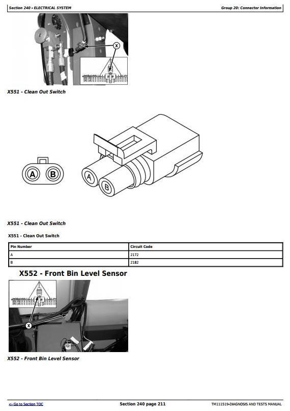 TM111519 - John Deere 1770NT 16-Row Planter Frame (SN.740101-745000) Diagnostic Service Manual - 1