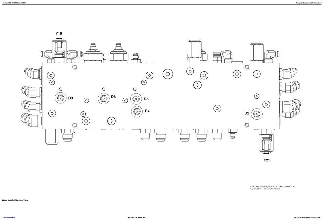 TM111719 - John Deere 1790 Planter Frames (SN.740101-745000) Diagnostic and Tests Service Manual - 2