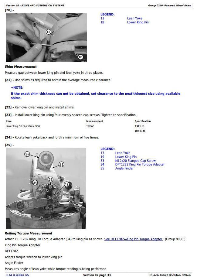 TM11207 - John Deere 770G, 770GP, 772G, 772GP (SN.-634753) Motor Grader Service Repair Technical Manual - 1
