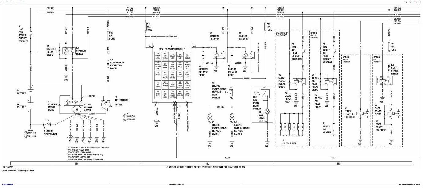 TM11208 - John Deere 870G, 870GP, 872G, 872GP (SN.-634753) Motor Grader Diagnostic&Test Service Manual - 1
