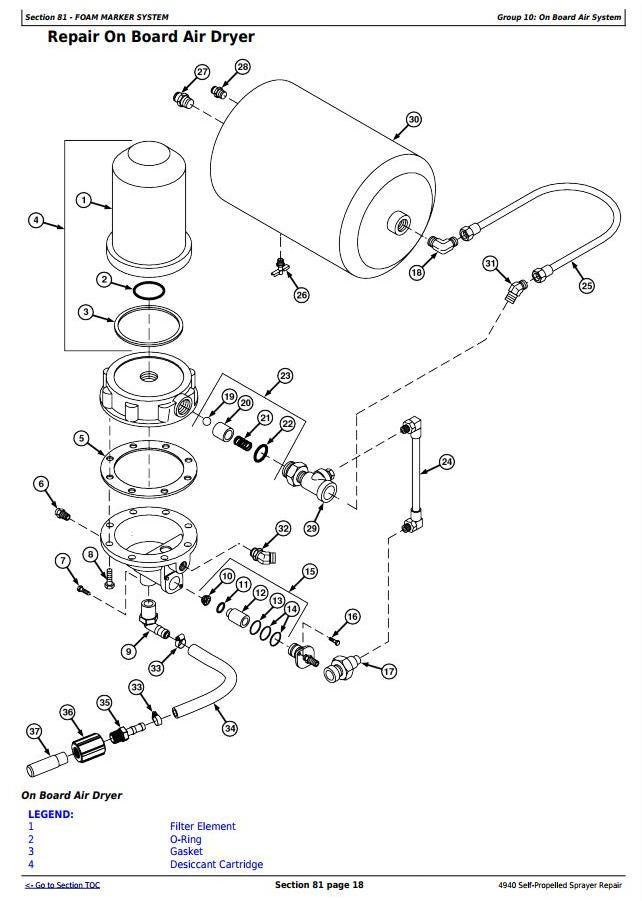 TM113619 - John Deere 4940 Self-Propelled Sprayers Service Repair Technical Manual - 3