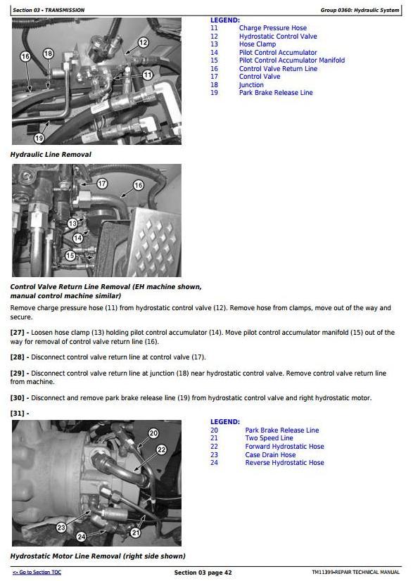 TM11399 - John Deere 318D, 319D, 320D, 323D Skid Steer Loader w.Manual Controls Service Repair Manual - 3