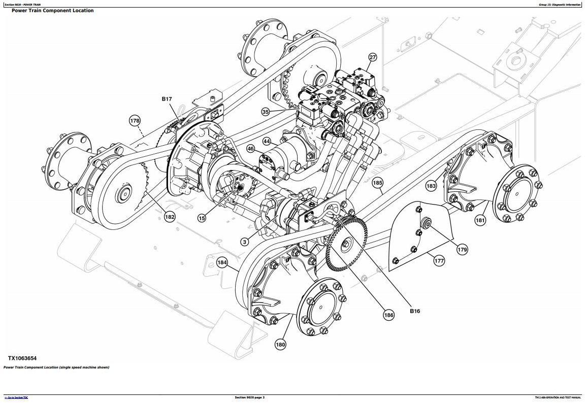TM11406 - John Deere 318D, 320D Skid Steer Loader with EH Controls Diagnostic & Test Service Manual - 1