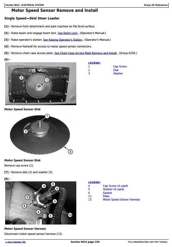 TM11438 - John Deere 326D, 328D, 332D Skid Steer Loader w.EH Controls Diagnostic&Test Service Manual - 3