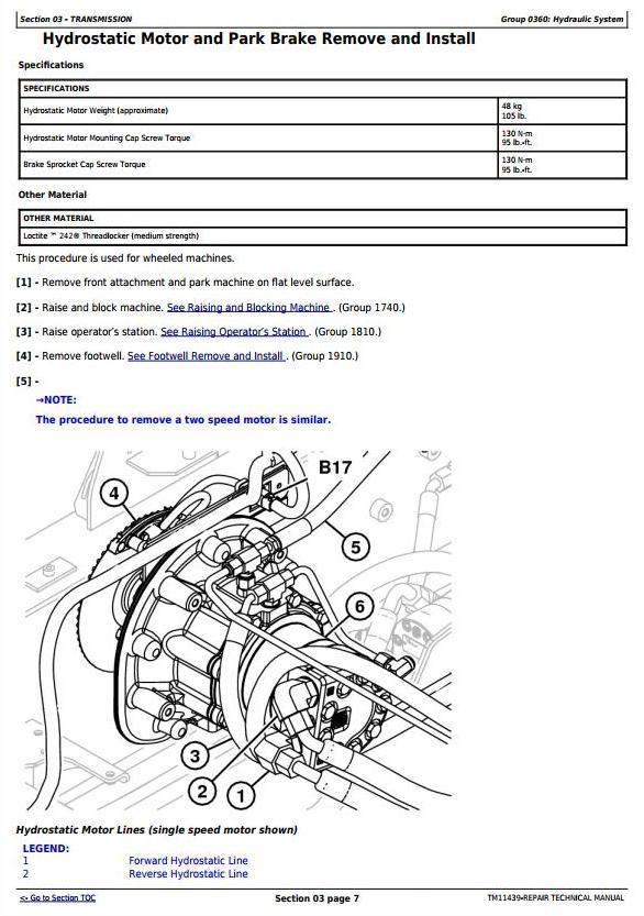 TM11439 - John Deere 326D, 328D, 329D, 332D, 333D Skid Steer Loader with EH Controls Repair Manual - 3