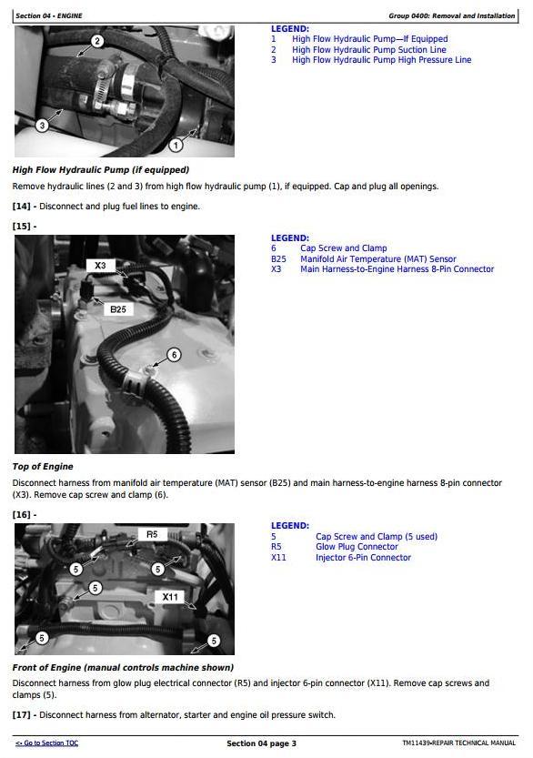 TM11439 - John Deere 326D, 328D, 329D, 332D, 333D Skid Steer Loader with EH Controls Repair Manual - 1