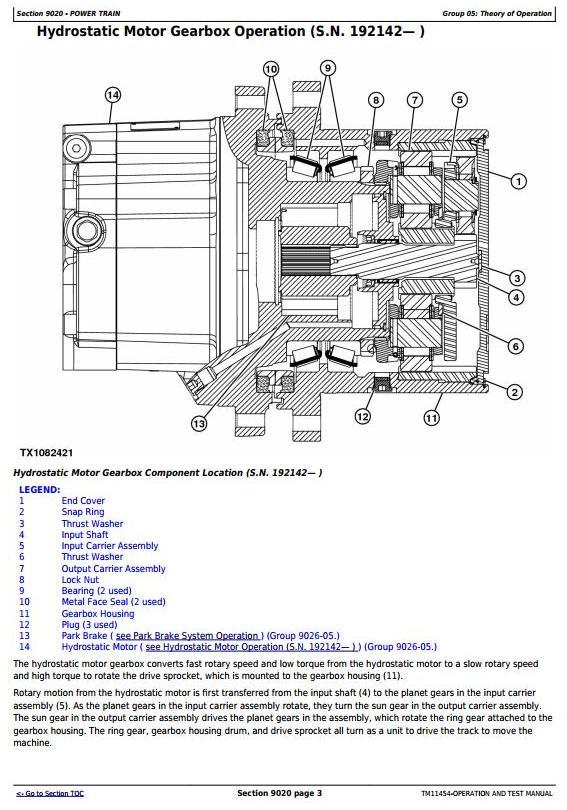 TM11454 - John Deere 329D, 333D Skid Steer Loader w.EH Controls Diagnostic and Test Service Manual - 3