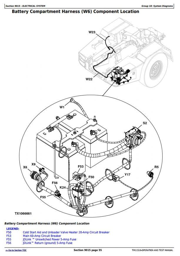 TM11516 - John Deere 250D, 300D Ser.2 Articulated Dump Truck (SN: 626761-642000) Diagnostic and Test - 1