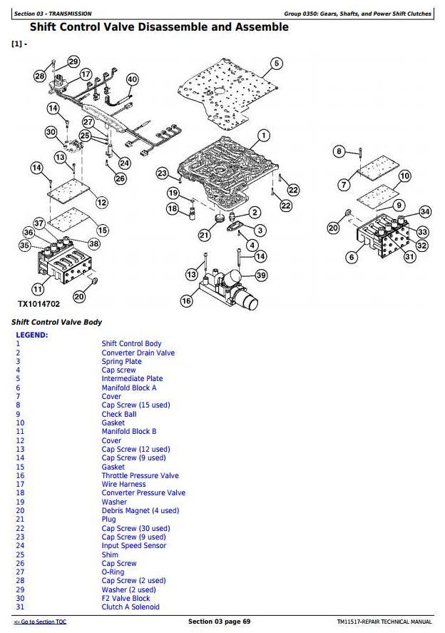 TM11517 - John Deere 250D, 300D Ser.2 Articulated Dump Truck (SN:626761-642000) Service Repair Manual - 2