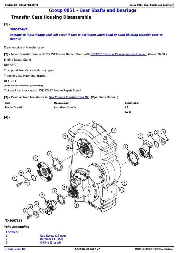 TM11517 - John Deere 250D, 300D Ser.2 Articulated Dump Truck (SN:626761-642000) Service Repair Manual - 3