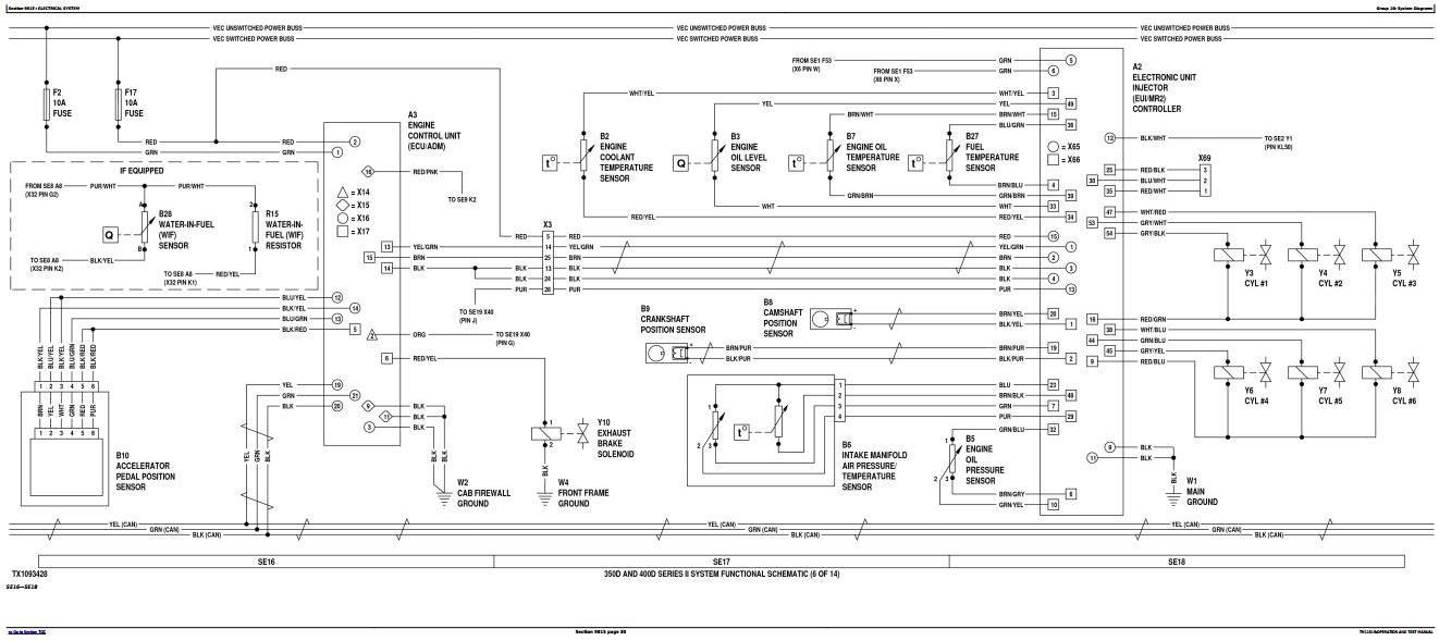 TM11518 - John Deere 350D Series II, 400D Series II Truck Articulated Dump Operation and Test Manual - 3