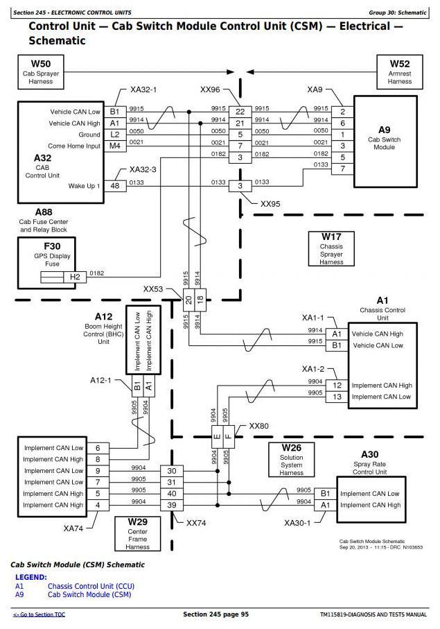TM115819 - John Deere R4030, R4038, R4045 Self-Propelled Sprayer Diagnostic and Tests Service Manual - 1