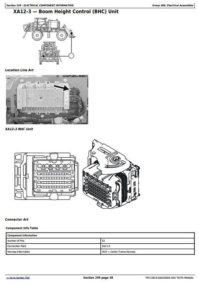TM115819 - John Deere R4030, R4038, R4045 Self-Propelled Sprayer Diagnostic and Tests Service Manual - 2