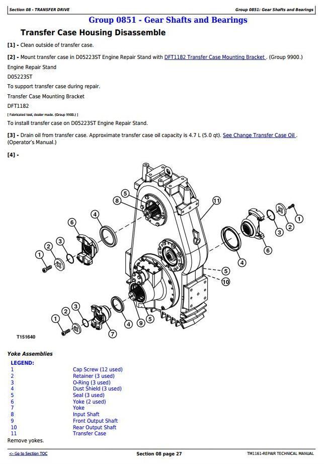 TM1161 - John Deere 250D, 300D Truck Articulated Dump 609166-XXXXXX Repair Technical Manual - 3