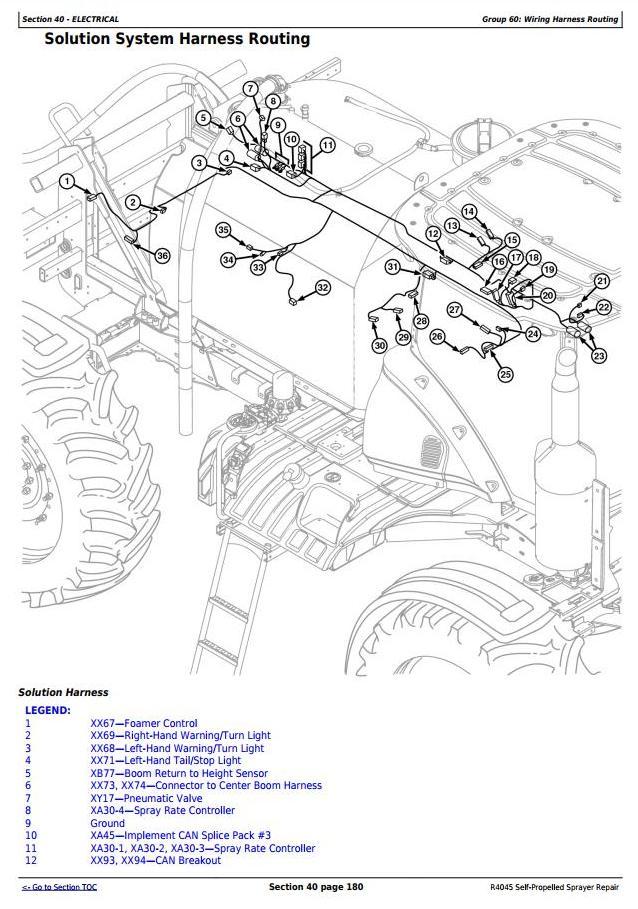 TM116119 - John Deere R4045 Self-Propelled Sprayers Service Repair Technical Manual - 2