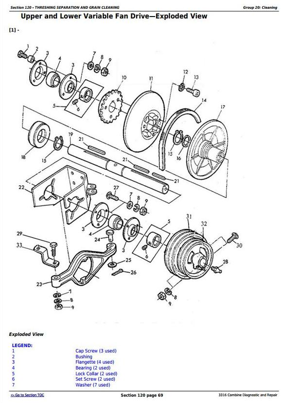 TM117019 - John Deere 3316 Combine Diagnostic and Repair Technical Service Manual - 2
