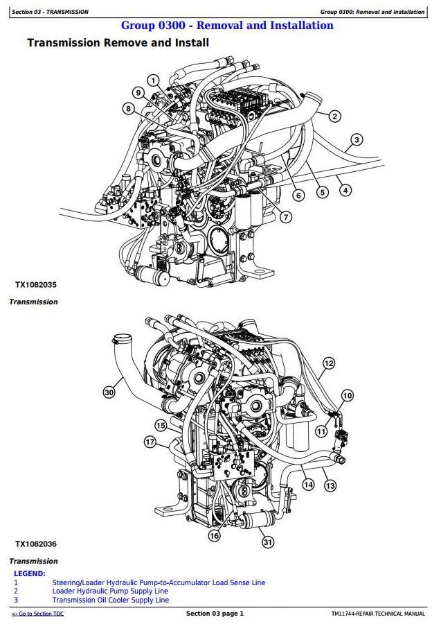TM11744 - John Deere 744K Loader (SN.630720—664577) w.Engine 6090HDW12 Service Repair Technical Manual - 1