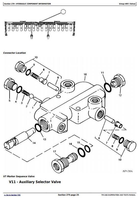 TM118219 - John Deere 1720, 1725 SeedStar 16 Row Planter (SN.745101-) Diagnostic Service Manual - 2