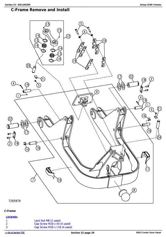 TM12046 - John Deere 850K Crawler Dozer (PIN: 1T0850KX_ _E178122—271265) Service Repair Manual - 3