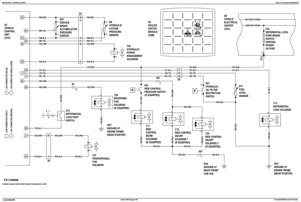 TM12089 - John Deere 444K (SN.642101-670307) 4WD Loader Diagnostic, Operation & Test Service Manual - 1