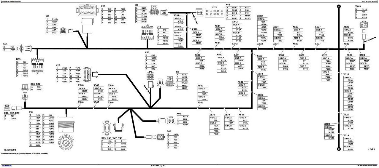 TM12090 - John Deere 444K w.Engine 4045HDW54 (T3) 4WD Loader (SN.642101-670307) Diagnostic Manual - 1