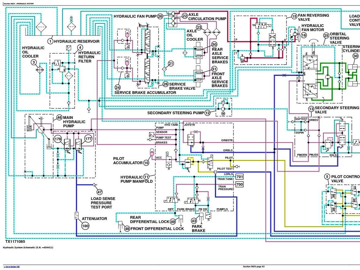 TM12090 - John Deere 444K w.Engine 4045HDW54 (T3) 4WD Loader (SN.642101-670307) Diagnostic Manual - 3
