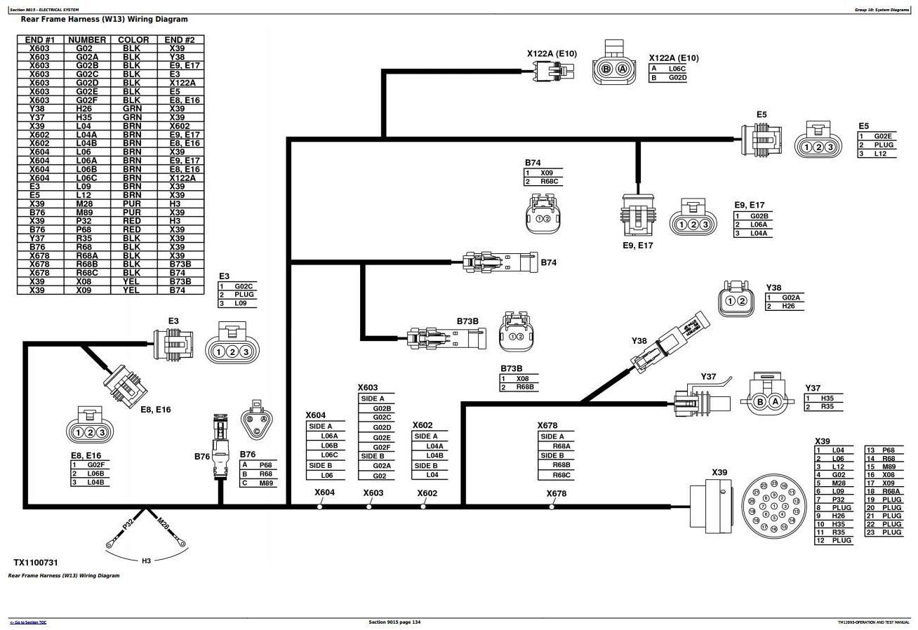 TM12093 - John Deere 524K 4WD Loader (SN.642246-670307) w.Engine 6068HDW84 Diagnostic Service Manual - 1