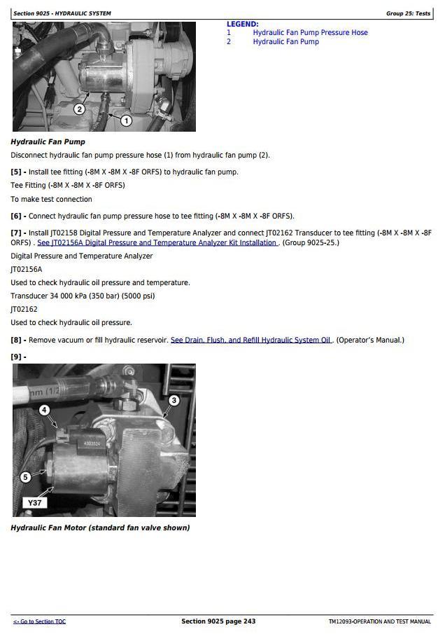 TM12093 - John Deere 524K 4WD Loader (SN.642246-670307) w.Engine 6068HDW84 Diagnostic Service Manual - 3