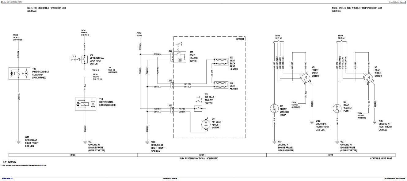 TM12094 - John Deere 524K 4WD Loader (SN.642246-670307) w.Engine 6068HDW74 Diagnostic Service Manual - 1