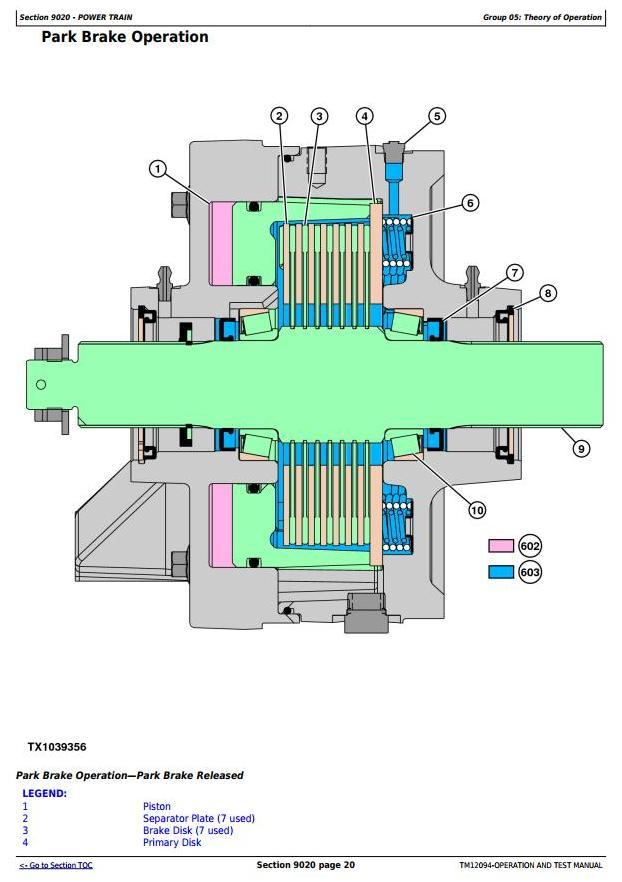 TM12094 - John Deere 524K 4WD Loader (SN.642246-670307) w.Engine 6068HDW74 Diagnostic Service Manual - 2