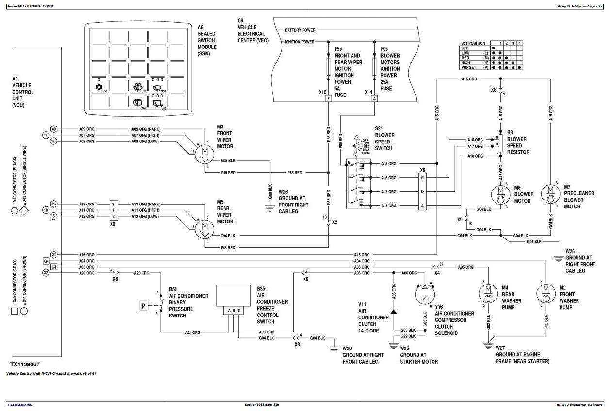 TM12101 - John Deere 624K 4WD Loader (SN.642635-658064) w.Engine 6068HDW78 Diagnostic Service Manual - 1