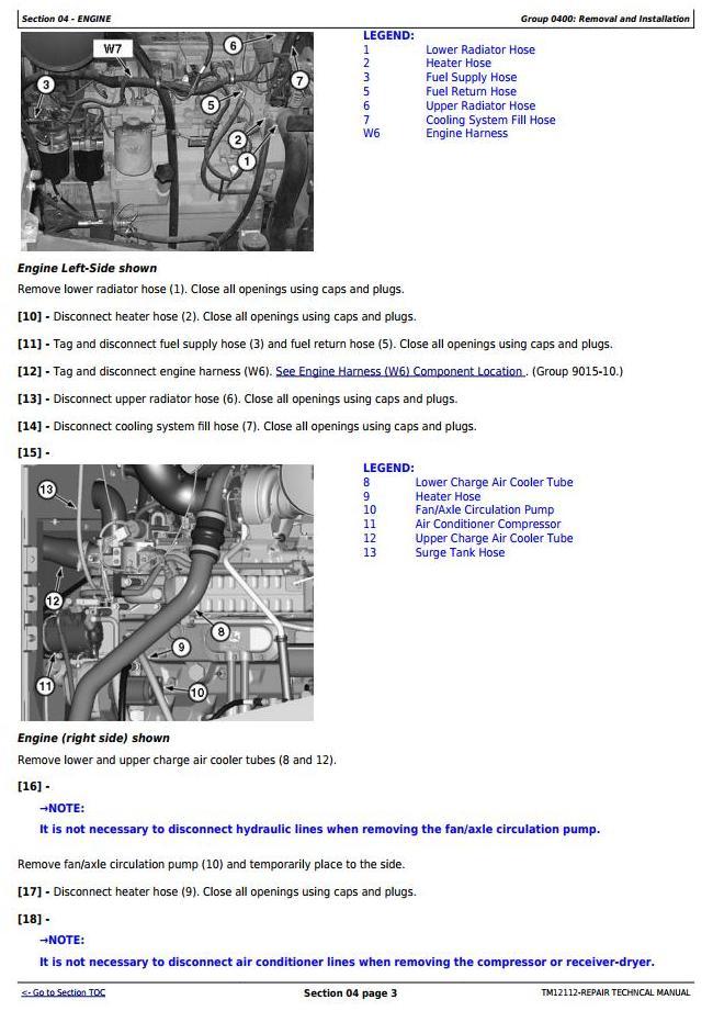 TM12112 - John Deere 724K 4WD Loader (SN.C642718-658064;D642722-658064) Service Repair Technical Manual - 2