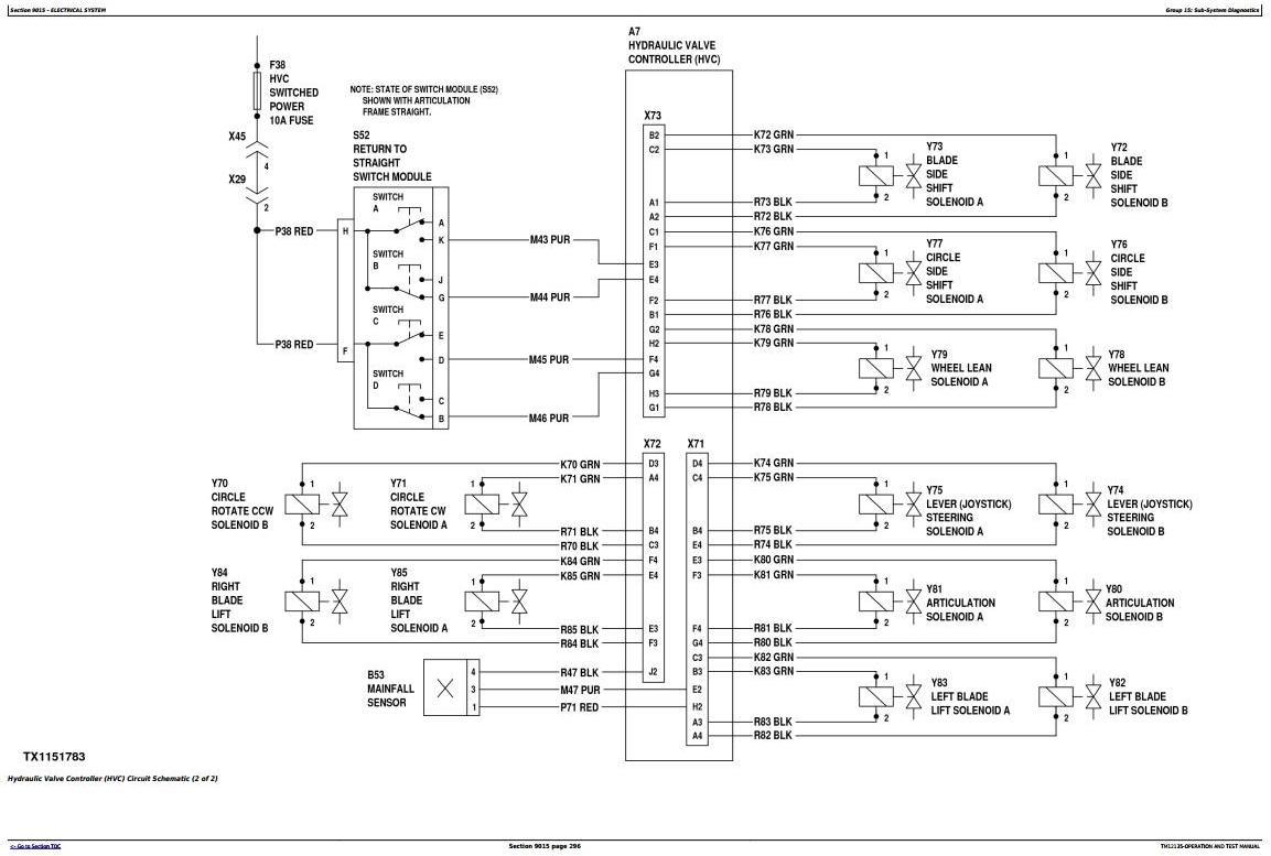 TM12135 - John Deere 670G, 670GP, 672G, 672GP (SN.634380—656507) Motor Grader Diagnostic Service Manual - 1