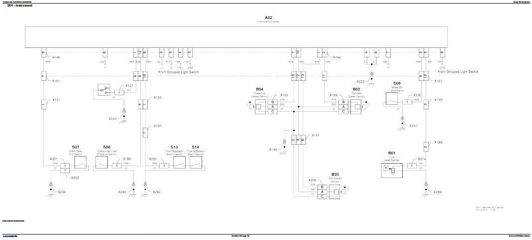 TM121419 - John Deere 4LZ-7, 4LZ-9 (C110) Combine Diagnostic and Repair Technical Service Manual - 3