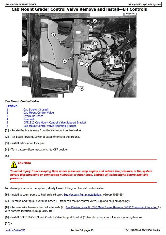 TM12142 - John Deere 770G, 770GP, 772G, 772GP (SN.634754—656507) Motor Grader Repair Technical Manual - 3