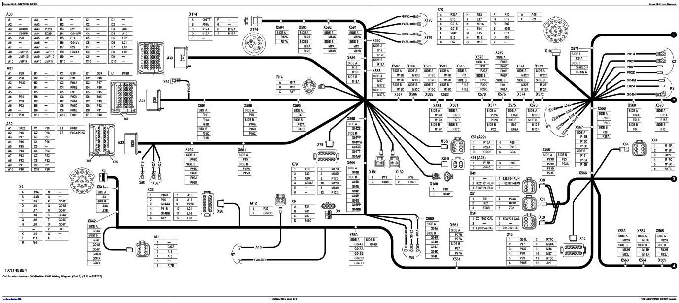 TM12143 - John Deere 870G, 870GP, 872G, 872GP (SN.634380-656507) Motor Grader Diagnostic Service Manual - 1