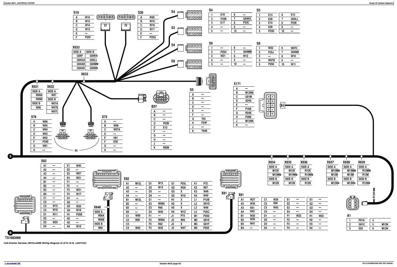 TM12144 - John Deere 870G, 870GP, 872G, 872GP (SN.634754-656507) Motor Grader Diagnostic Service Manual - 1