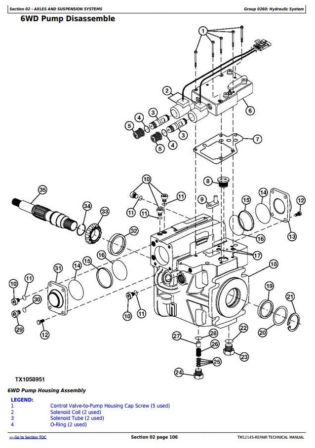 TM12145 - John Deere 870G, 870GP, 872G, 872GP (SN.634380-656507) Motor Grader Repair Technical Manual - 1
