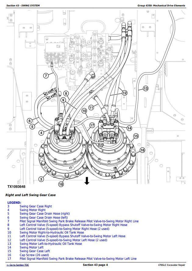 TM12180 - John Deere 470GLC Excavator with 6UZ1XZSA-01 Engine Service Repair Technical Manual - 3