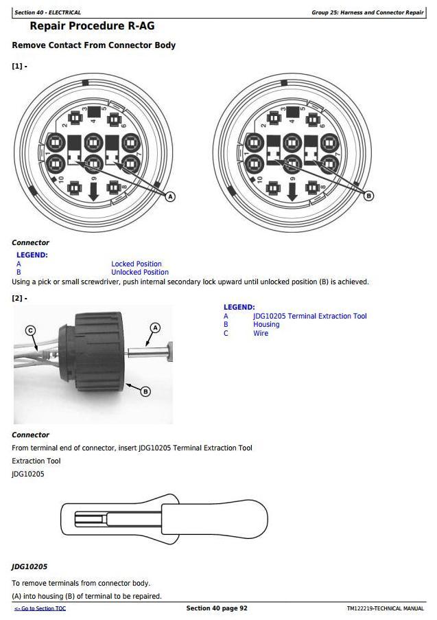 TM122219 - John Deere W150 Self-Propelled Hay&Forage Windrower Diagnostic & Repair Technical Manual - 1