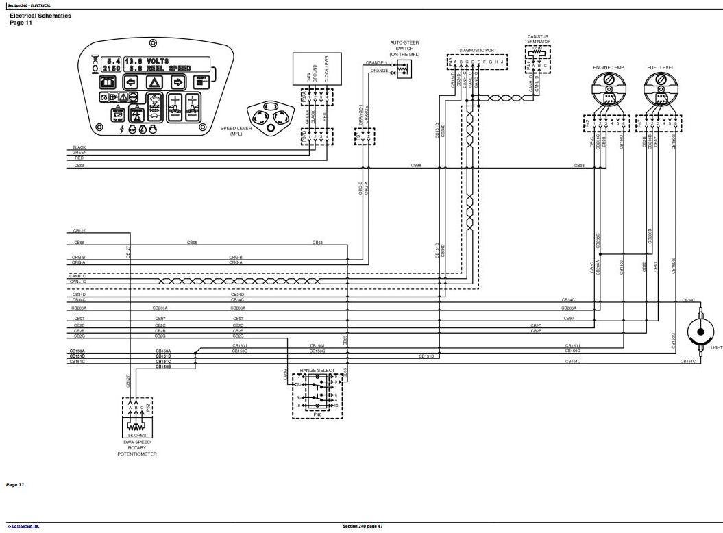 TM122219 - John Deere W150 Self-Propelled Hay&Forage Windrower Diagnostic & Repair Technical Manual - 2