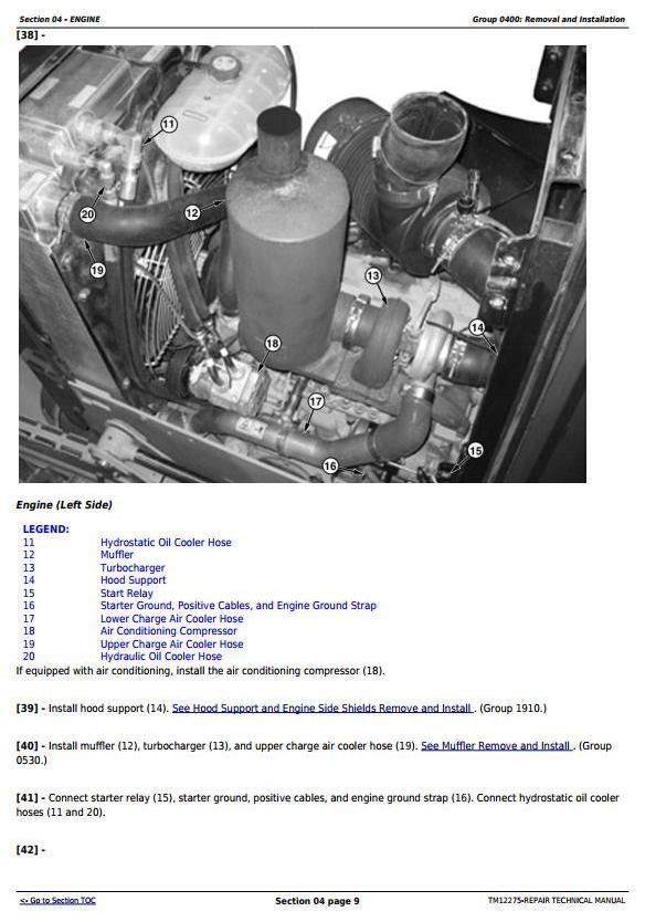 TM12275 - John Deere 450J Crawler Dozer (S.N. from 216243) Service Repair Technical Workshop Manual - 1