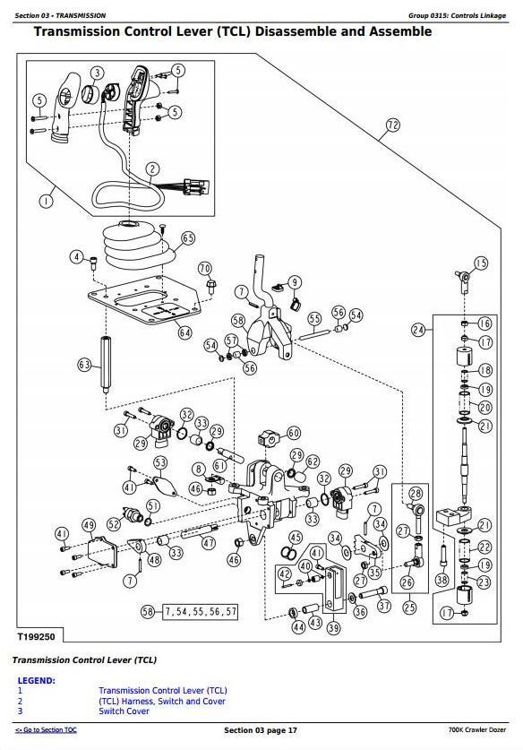 TM12295 - John Deere 700K Crawler Dozer (S.N. 217278-275435) Service Repair Technical Manual - 1