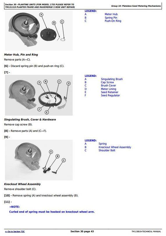 TM123019 - John Deere 1745, 1750, 1755 Planters Diagnostic & Test Technical Service Manual - 1