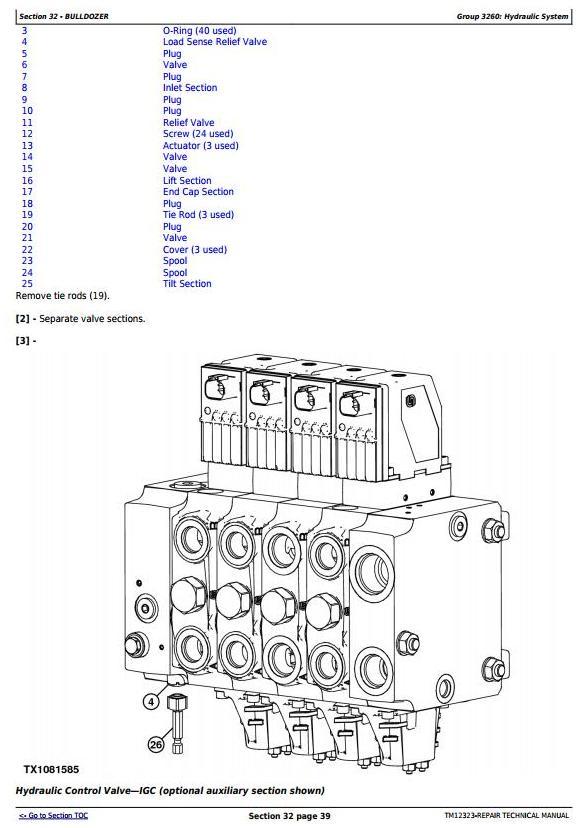 TM12323 - John Deere 850J Crawler Dozer with Engine 6068HT090 Service Repair Technical Manual - 1