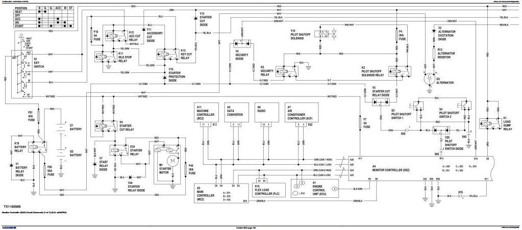TM12348 - John Deere 130G (iT4/S3B) Excavator (S.N.1FF130GX_E040001) Operation & Test Service Manual - 2