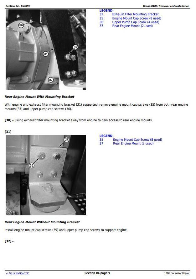 TM12351 - John Deere 130G (iT4/S3B) Excavator Service Repair Manual - 1
