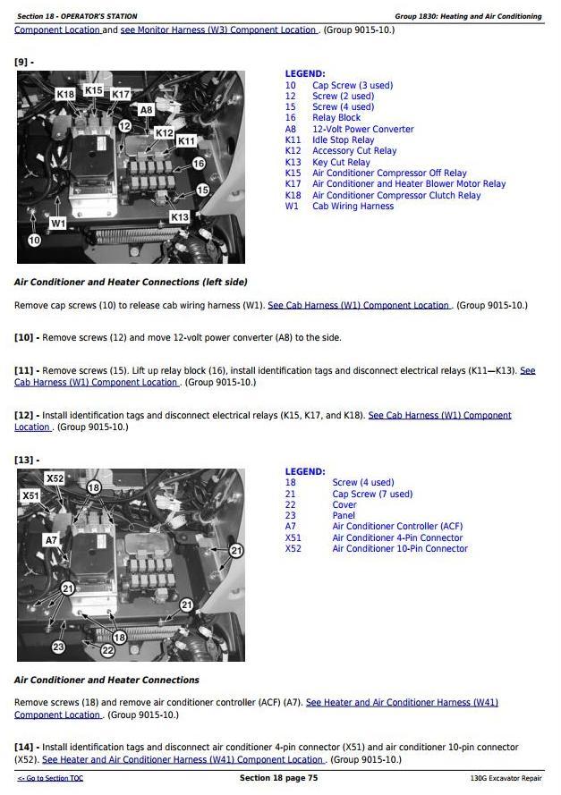 TM12351 - John Deere 130G (iT4/S3B) Excavator Service Repair Manual - 2