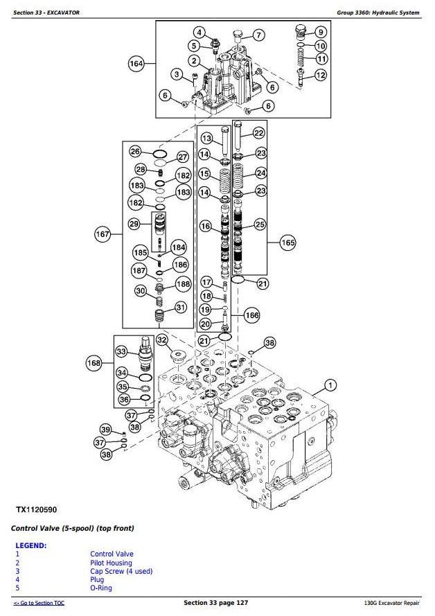 TM12351 - John Deere 130G (iT4/S3B) Excavator Service Repair Manual - 3